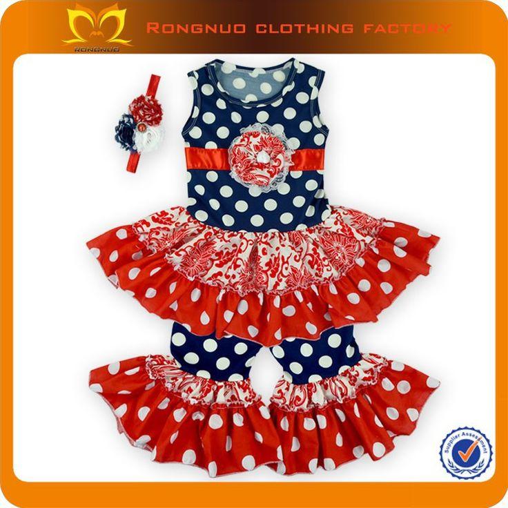 2015 Wholesale Price Baby Clothes wholesale children boutique clothing printed children summer fashion kids