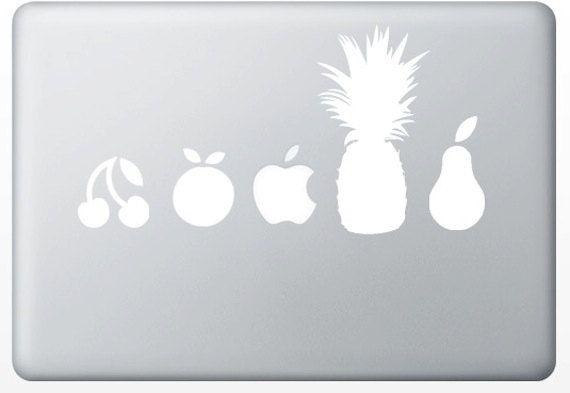 now what was steve jobs thinking. what piece of fruit do i want to name my computer after?