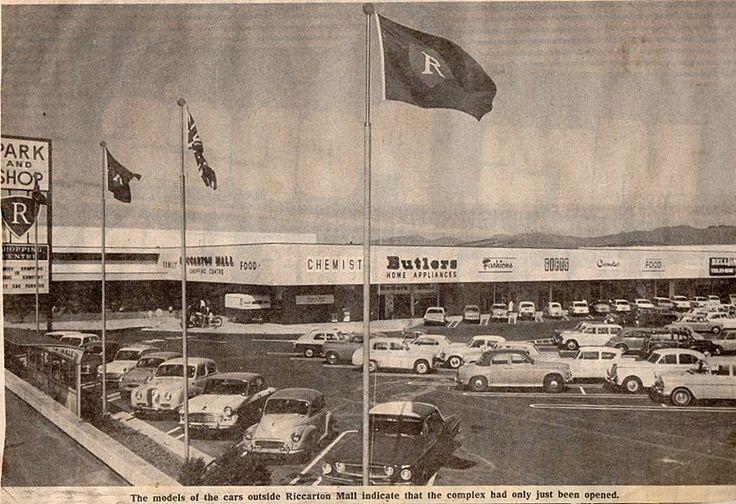 Riccarton Mall 1960's