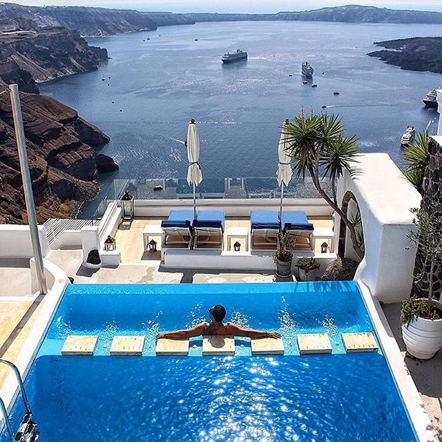 Santorini | What about this view?  @kinsonsworld