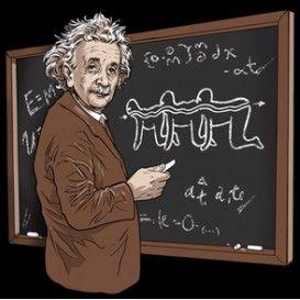 Einstein's Human Centipede