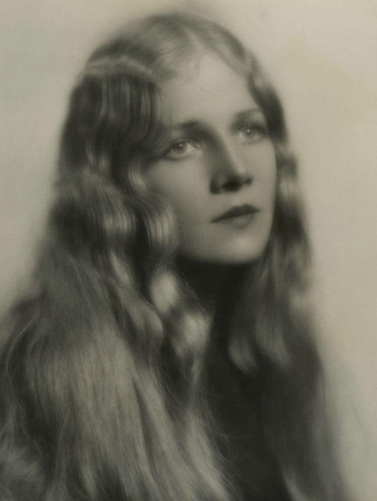 romantic ann harding vintage 1929 soft focus photograph