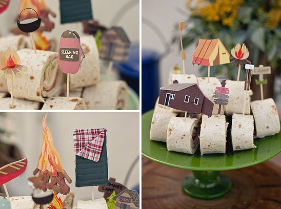Camping themed showerThemed Baby Showers, Kids Parties, Birthday Parties, Theme Parties, Camping Theme, Baby Shower Themes, Parties Ideas, Camps Parties, Camps Theme