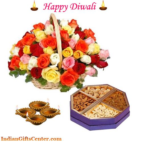 Diwali is one of the most important and auspicious festivals of India that is celebrated as the festival of lights with lots of fun, joy and excitement. Send Diwali Gifts to India online at lowest price through Indian Gifts Center. Shop online best Diwali gifts including sweets, dry fruits, chocolates, crackers and gift hampers to send your loved ones in India. Buy online at: http://www.indiangiftscenter.com/send-diwali-gifts-to-india-online-2.html