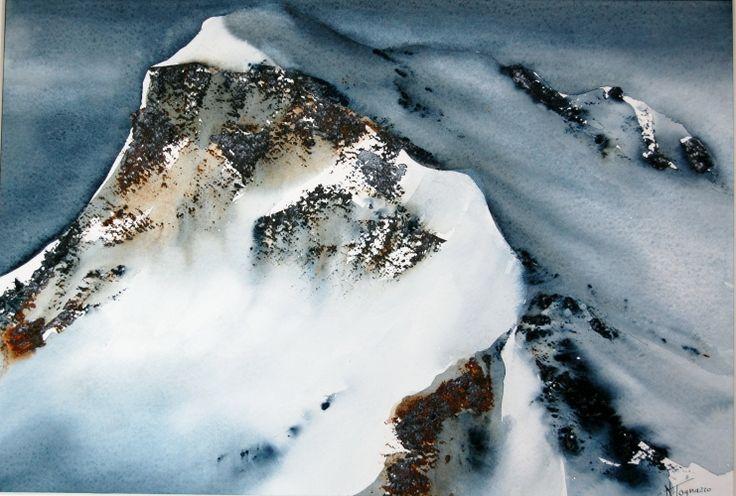 309 besten kunst berge steine bilder auf pinterest for Innendekoration engadin