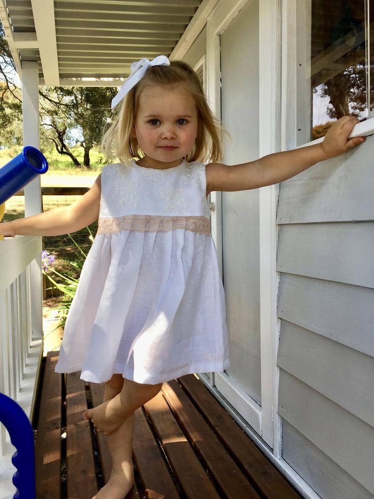 Toddler baptism dress