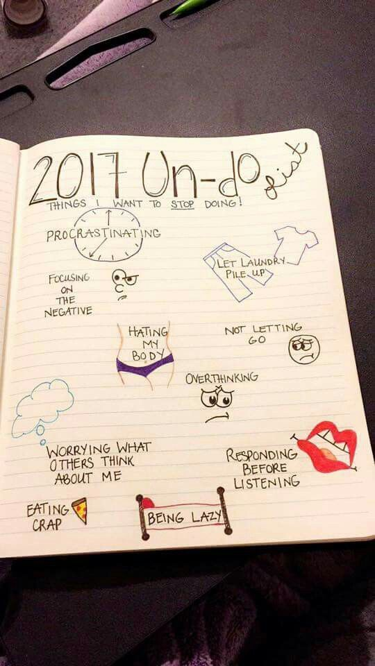 Just the things I want to stop... Zou mijn lijstje kunnen zijn.