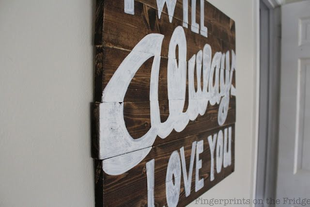 Wood sign craft ideas pinterest paint pens board for Paint pens for wood crafts