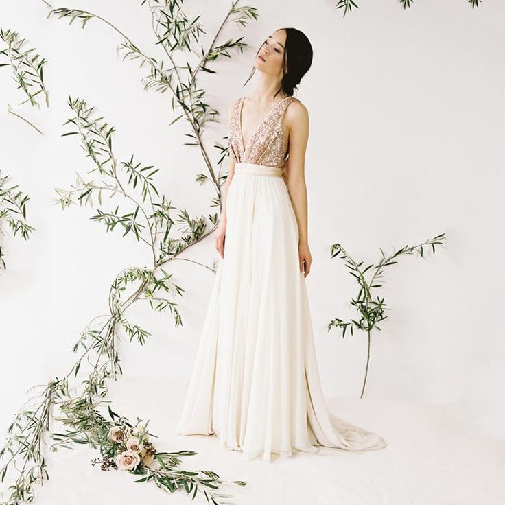 Boho wedding dress is an absolute favorite of all that I have seen! ...