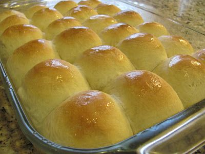Mom's Holiday Dinner Rolls. They are light & fluffy & buttery. They make any meal complete but they must be served on Easter, Thanksgiving & Christmas!