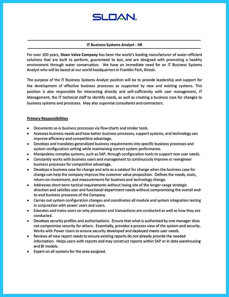 awesome Create Your Astonishing Business Analyst Resume and Gain the Position, Check more at http://snefci.org/create-your-astonishing-business-analyst-resume-and-gain-the-position