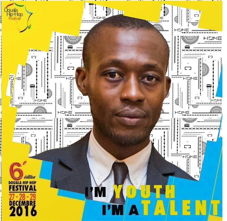 Douala Hip Hop festival 2016... You are wele to thé show #DesingnByGab'Un