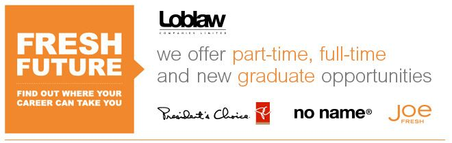 Outside Service Clerk- Evenings/Weekends - Loblaw - Ogilvie and Blair | LOBLAW COMPANIES LIMITED | Workopolis