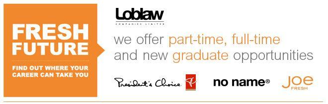 Outside Service Clerk- Evenings/Weekends - Loblaw - Ogilvie and Blair | LOBLAW COMPANIES LIMITED | Workopolis
