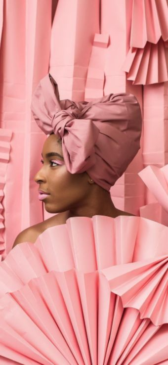 Popular headwrap and accessory brand Wrap Life just unveiled a photo series with Jessica Williams and we're swooning over every shot. | ESSENCE.COM