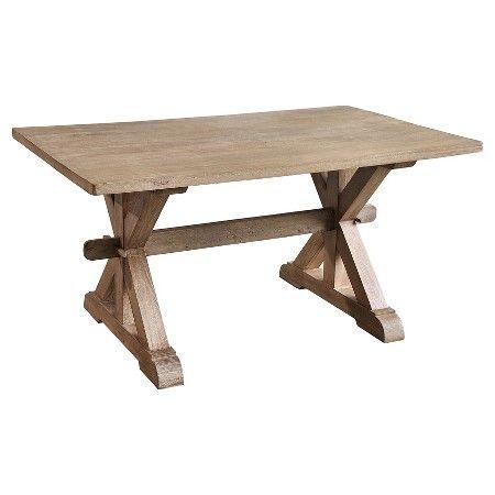 Small Chamonix Dining Table Wood/Rustic Mango/Grey Wash - Casual Elements : Target