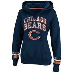 Chicago Bears Women's Hoodie Pullover Sweatshirt