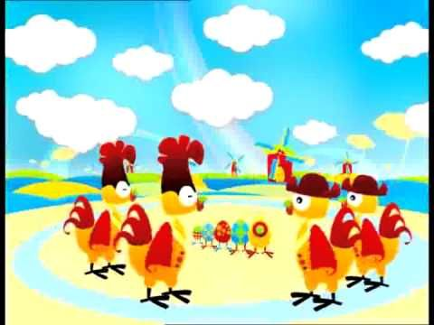 ▶ Boer wat zeg je van mijn kippen (BabyTv / Nederlands) - YouTube