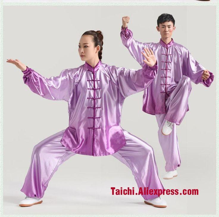 [Visit to Buy] Handmade Tai Chi Uniform Wushu Kung Fu martial Art Suit Gradual Change Color Tai Chi Performance Performance Costume #Advertisement