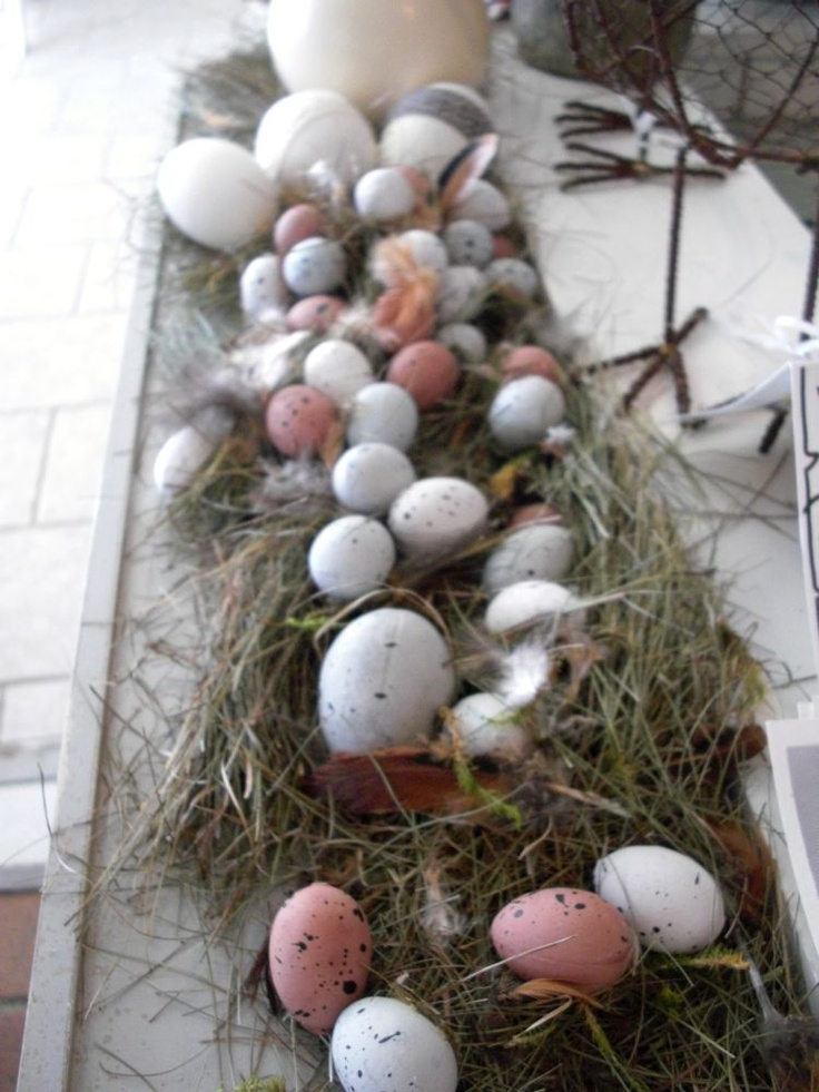 Easter swedish style via Inspiration i vitt