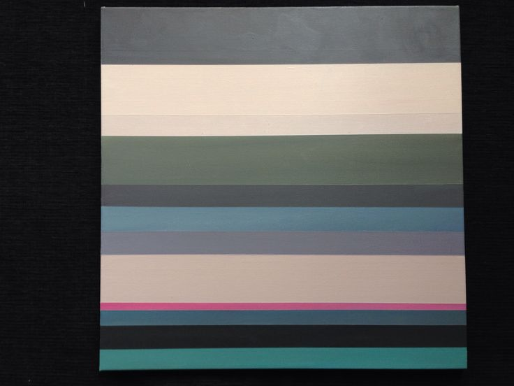 Stripes - abstrakt paintings. Artist Kathrine van  Godt.