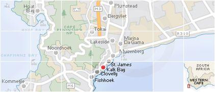 Accommodation in Kalk Bay