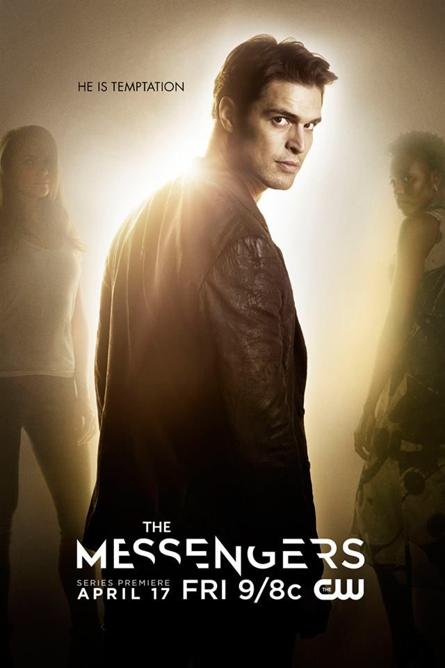 The end of days are coming. #TheMessengers premieres Friday, April 17! Diogo Morgado