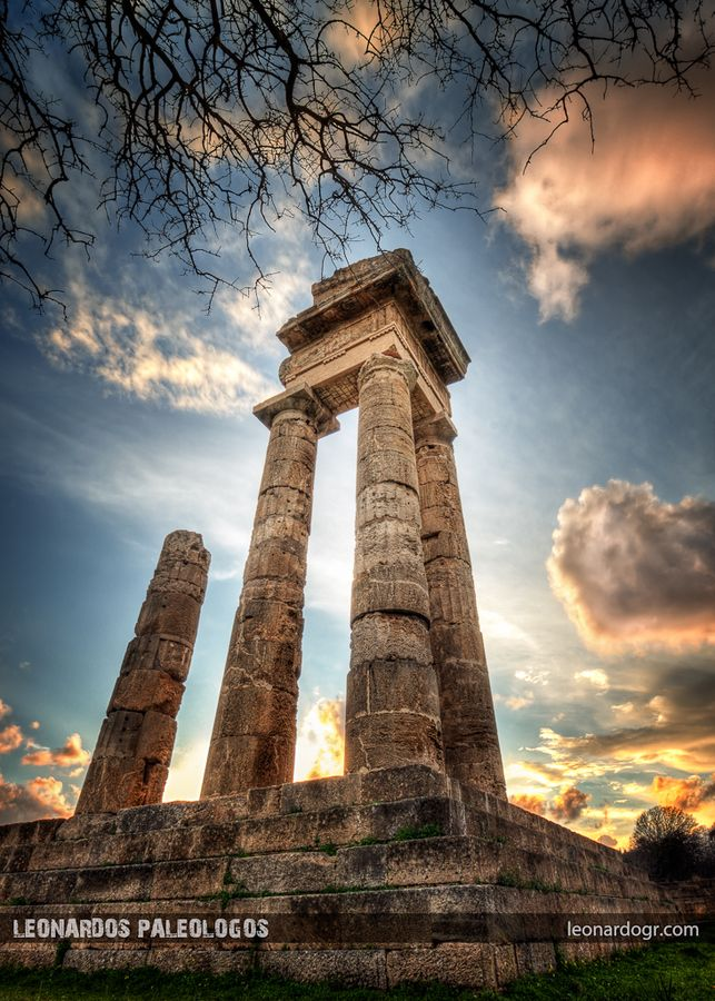 Apollo's Temple, Rhodes, Greece  *  Been ~ want to go again and have more time