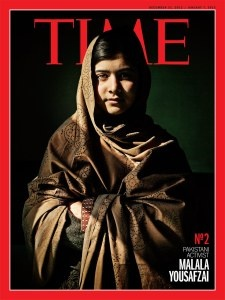 An extraordinary person. I wish I had a fraction of her strength and vision.    In trying, and failing, to kill Malala, the Taliban appear to have made a crucial mistake. They wanted to silence her. Instead, they amplified her voice. She has become perhaps the world's most admired children's-rights advocate, all the more powerful for being a child herself.    Read more: http://poy.time.com/2012/12/19/runner-up-malala-yousafzai-the-fighter/#ixzz2HoeIVKIm