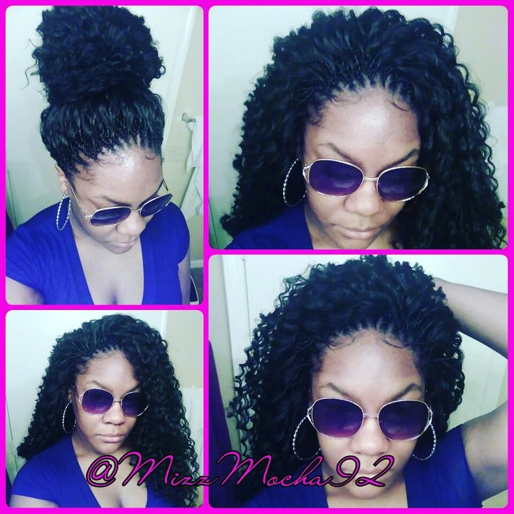 Crochet Braids - 4.5 packs Freetress Deep Twist. IG @MizzMocha92