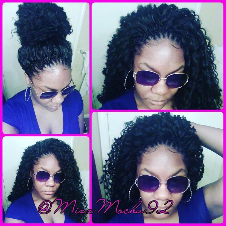 Astonishing Pres 1000 Napadu Na Tema Crochet Braids Natural Hair Na Pinterestu Short Hairstyles For Black Women Fulllsitofus
