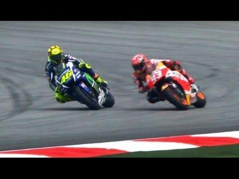 Motogp Malaysia 2015 - Video Duel Marquez vs Rossi