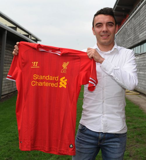 Liverpool Football Club are delighted to confirm the signing of striker Iago Aspas, subject to international clearance.