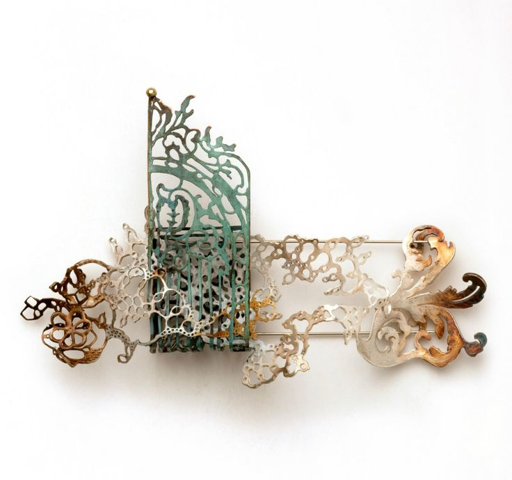 Elise Hatlo - Brooch from the series 'Ghost Town'
