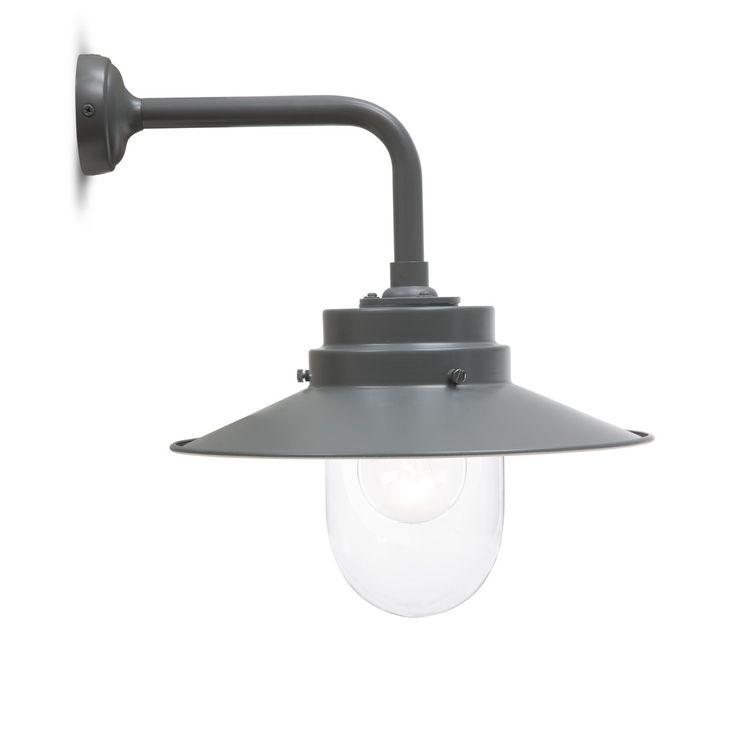 Buitenlamp stallamp Belfast Charcoal grijs