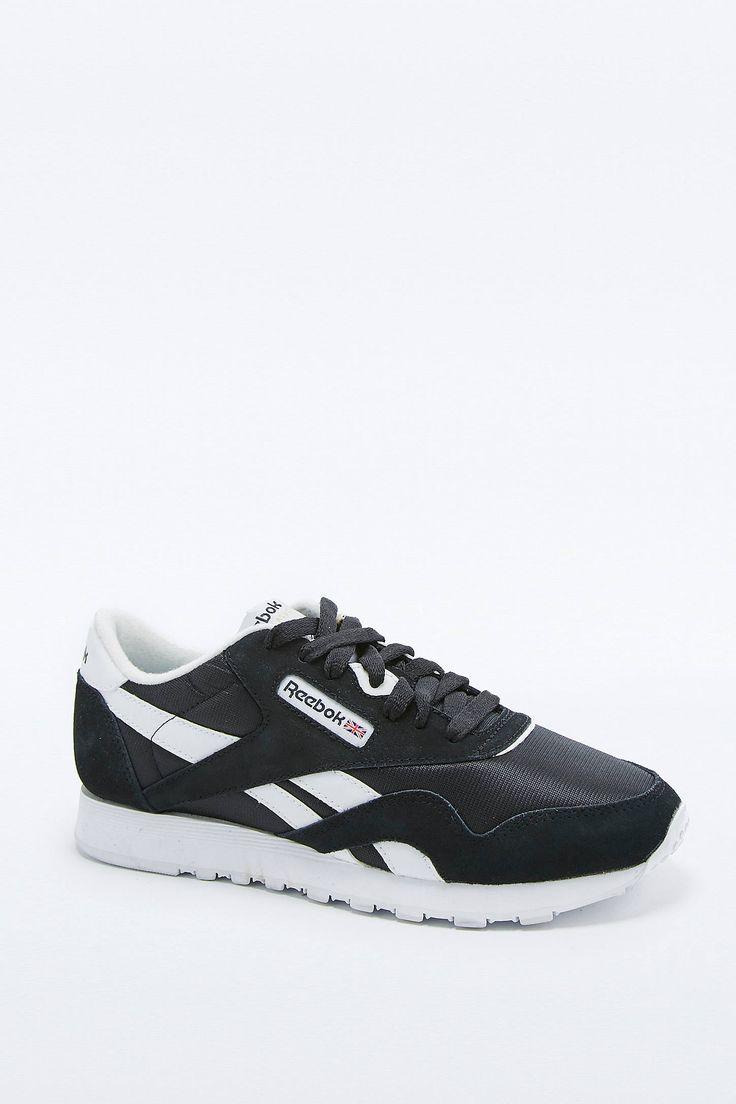 Slide View: 1: Reebok Classic – Sneaker in Schwarz-Weiß