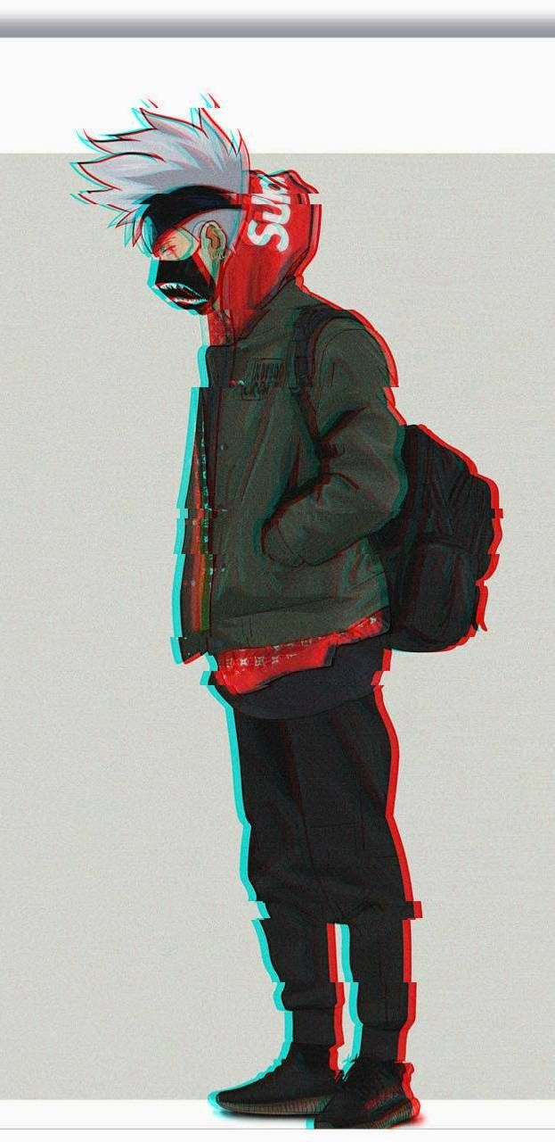 Kakashi Supreme Supreme wallpaper, Bape wallpapers