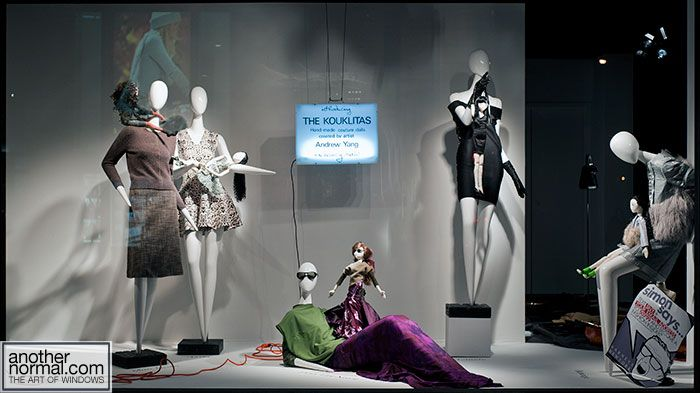 the one with the dolls, pinned by Ton van der Veer