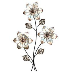 Metal Flower Wall Art best 25+ metal flower wall art ideas only on pinterest | metal