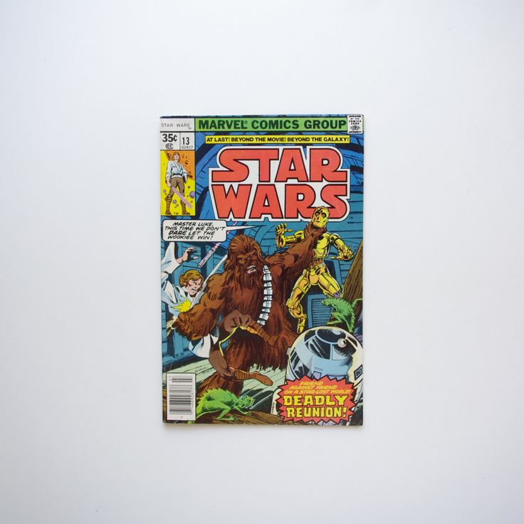 "Marvel Star Wars Comic #13 ""Day of the Dragon Lords"" - 1977 Star Wars by ThisCharmingManCave on Etsy  https://www.etsy.com/listing/255735091/"