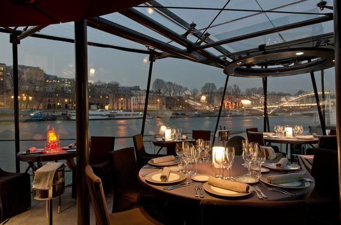 Traveler reviews of Bateaux Parisiens Seine River Dinner Cruise