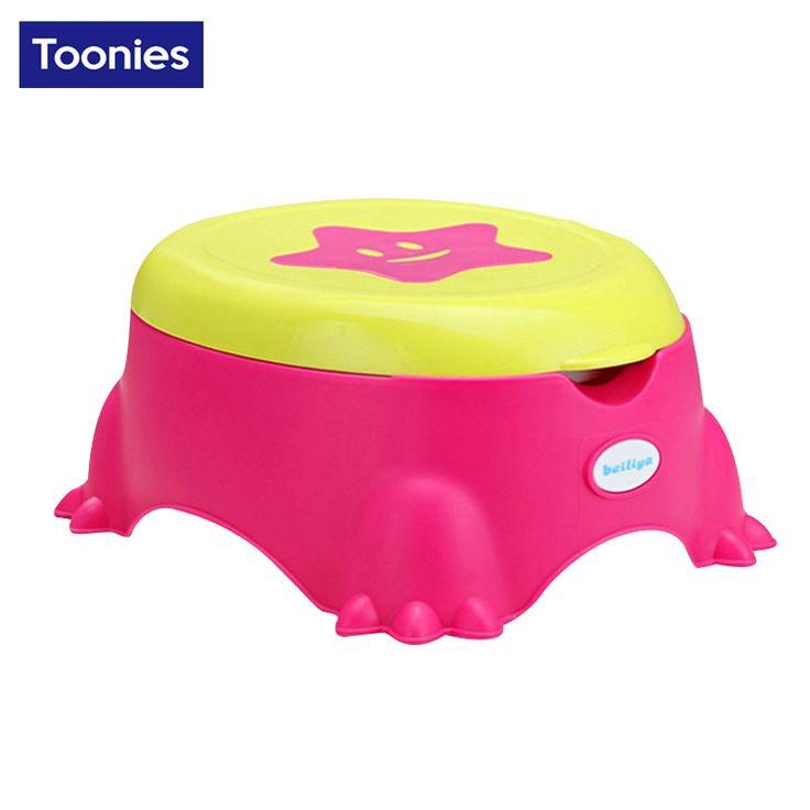 (47.48$)  Buy here  - Baby Potty Training Toilet  star toilet Plastic Non-slip Kids Toilet Seat Foldable Protable Travel Potty Chair Infant Children