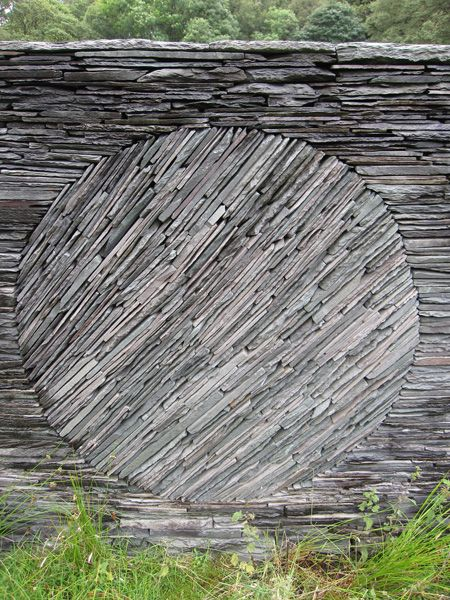 Stone wall by Andy Goldsworthy