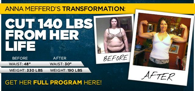Body Transformation: Anna Cut 140 Pounds From Her Life