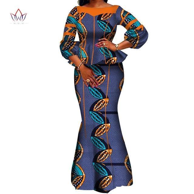 hight quarlity 2019 afrikaanse vrouwen rok set dashiki katoen crop