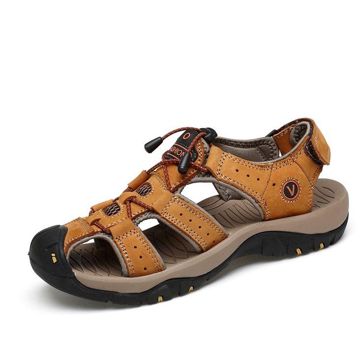 Womens Beach Wearproof Hiking Casual Comfort Antiskid Sport Strap Sandals Red