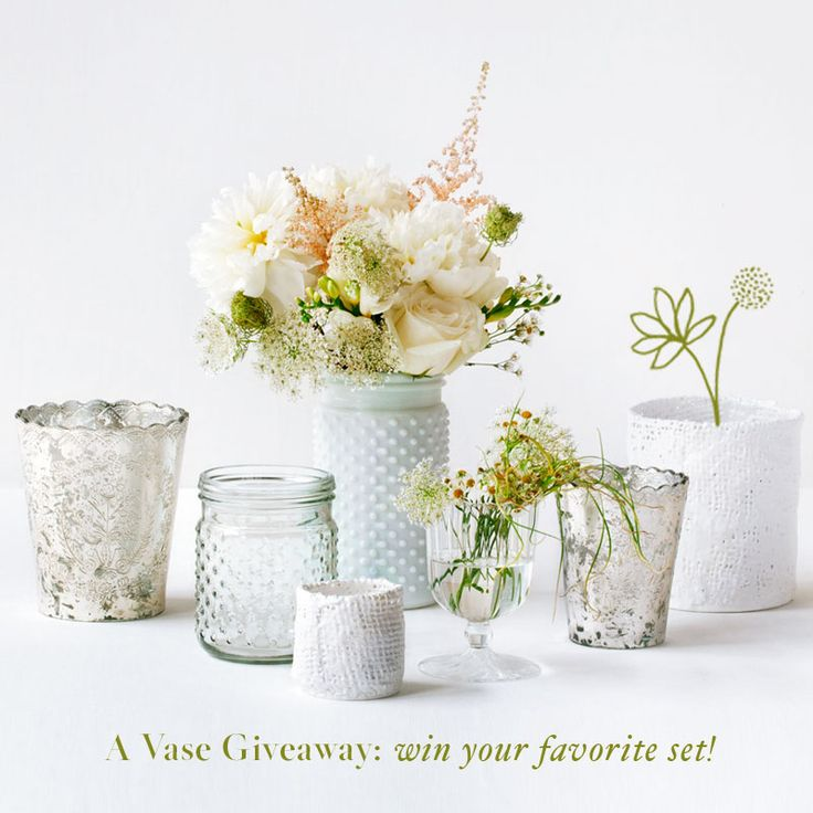 98 best wedding events giveaways contests images on pinterest mixing and matching textured vases with organic floral displays mixed with texas madrone on tables with large centerpieces junglespirit Image collections