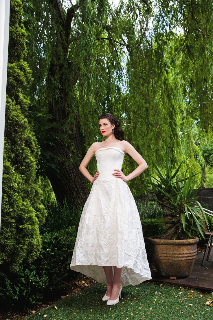 Issue #41 of Wedding Magazine Australia. Model wears Miss Amy Sunsets and You earrings and One Fine Day necklace. www.missamy.com.au