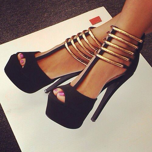 I'm trying to give up very high heels but these are great :o
