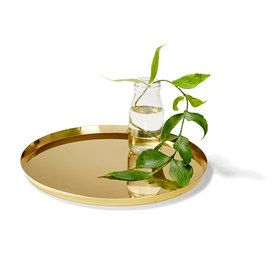 Brass Coloured Tray